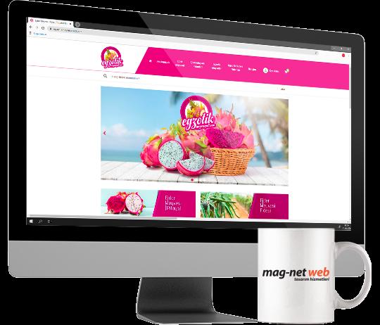 Egzotik Tarım e-Ticaret Sitesi Artık Yayında!