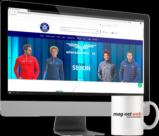 Adana Demir Store Online Satış Sitesi